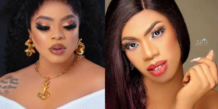 Bobrisky finishes James brown