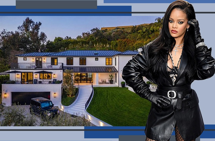 Mansion Rihanna just bought in Beverly Hills