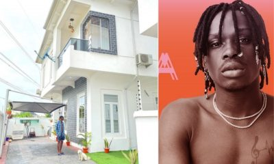 Fireboy shows off his new house photo