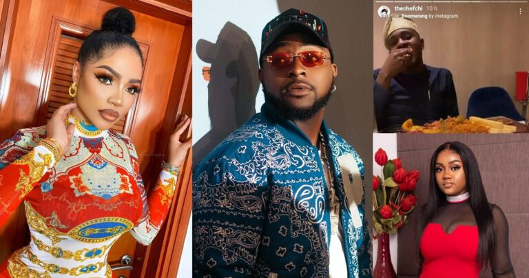 Nengi and Davido 'flirt with each other hours after Chioma showed off a mystery man
