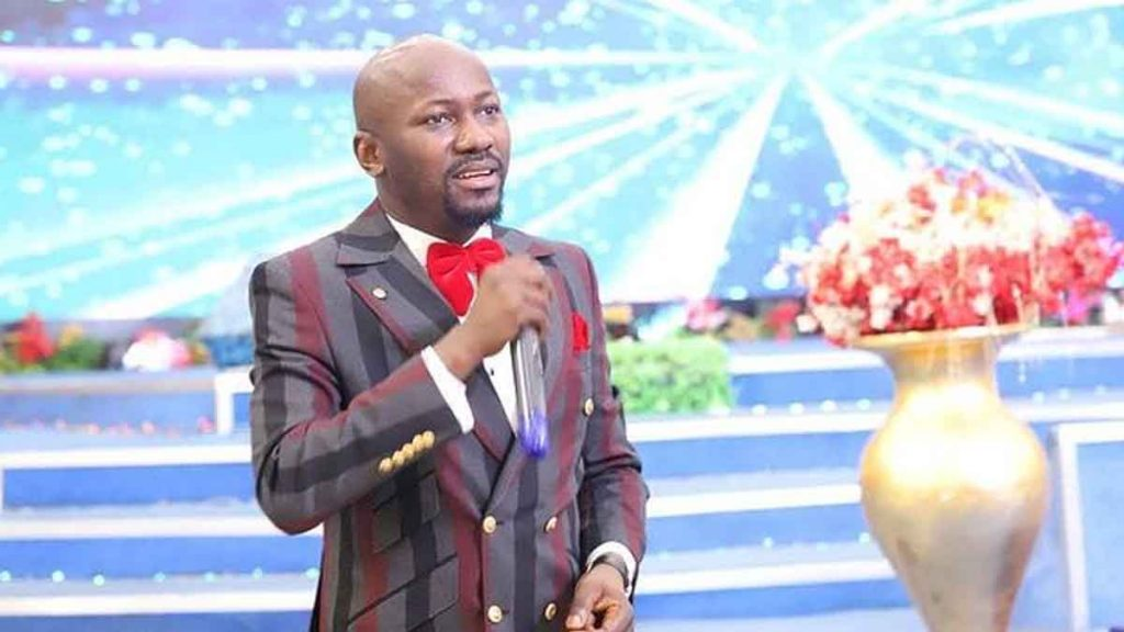 Apostle Johnson Suleman House