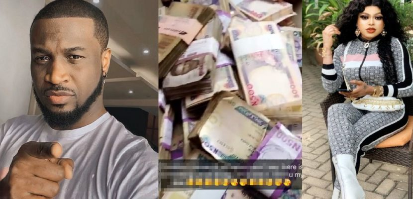 Bobrisky Shares His bank Account Balance of Almost N1Billion