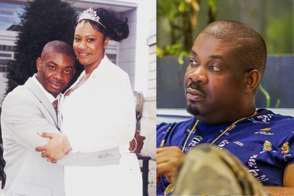 Don Jazzy Reveals What happened To His First Marriage