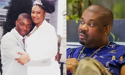 Don jazzy with his ex wife