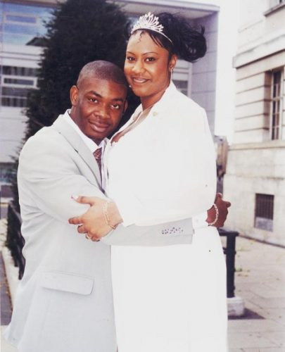 Don Jazzy and first wife