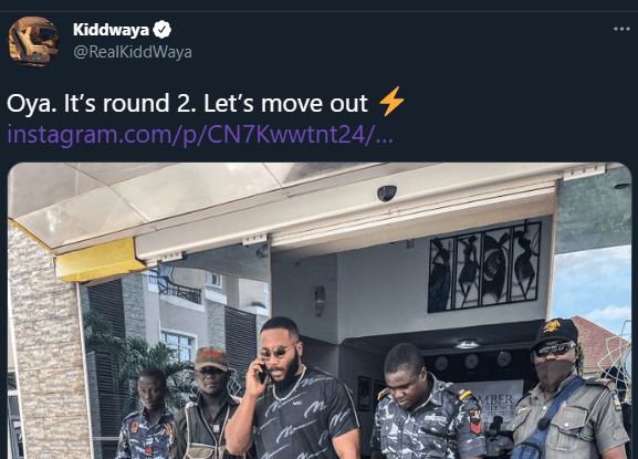 Kiddwaya Reacts After Being Dragged For Stepping Out With 4 Police Escort
