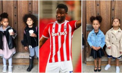 Mikel Obi twin daughters celebrate his birthday with adorable video [Watch]