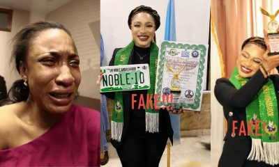 Tonto Dikeh disgraced internationally again as United Nations