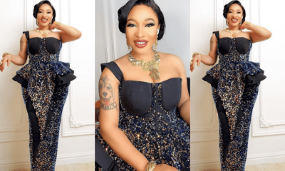 Tonto Dikeh finally reveals the man that changed her life