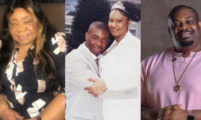 Nigerians react to Donjazzy's mother's message to her son's ex-wife, Michelle Jackson