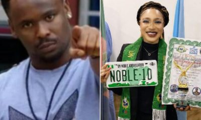 Controversial actor, Zubby Micheals has reacted after Nigerian actress Tonto Dikeh bagged the 3rd prestigious award within 4 weeks. Recall, Tonto Dikeh was recently embarassed by the Nigerian Christian Pilgrims Commission (NcPc), after they denied her appointment as Peace Ambassador.