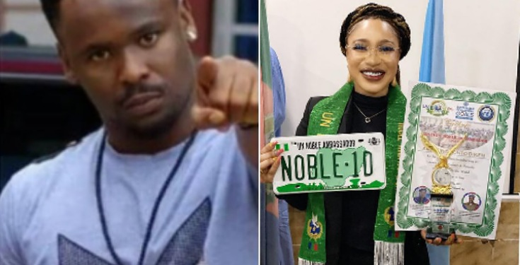 Zubby Michaels reacts to Tonto Dikeh award