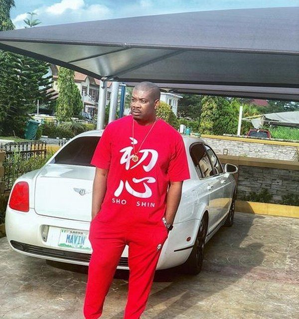 Don Jazzy Bentley Continental Flying Spur