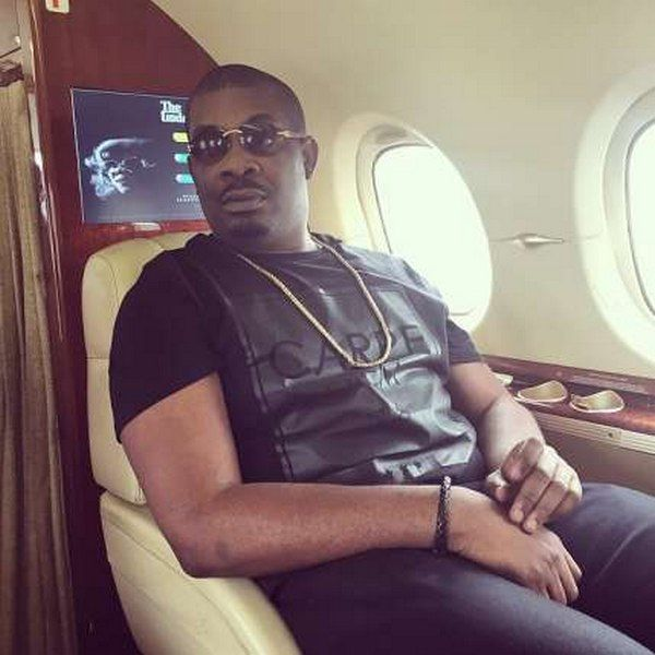 Don Jazzy private jet