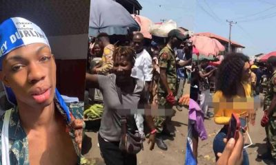 """""""They should be arrested"""" – Reactions as soldiers escort James Brown to market (Video)"""
