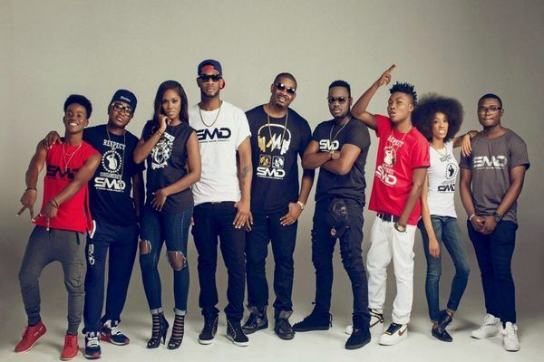 Don Jazzy and his Mavin Records Artists