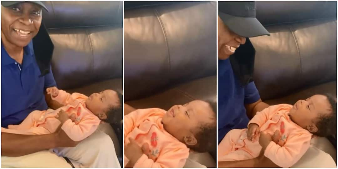 Davido Billionaire Father Gushes Over Granddaughter
