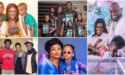 Nigerian Celebrities and What Their Kids Look Like