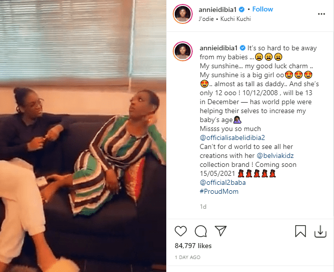 Annie Idibia Slams Follower Who Asked Her To Keep Her Daughter Away From Ned Nwoko 1