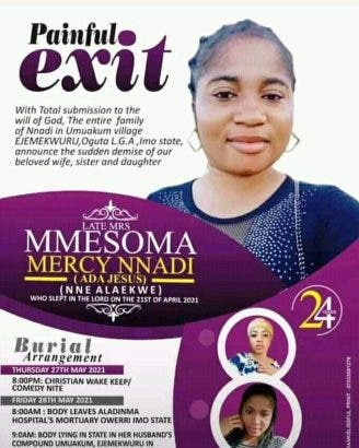 Family Release Obituary Of Comedienne Ada Jesus