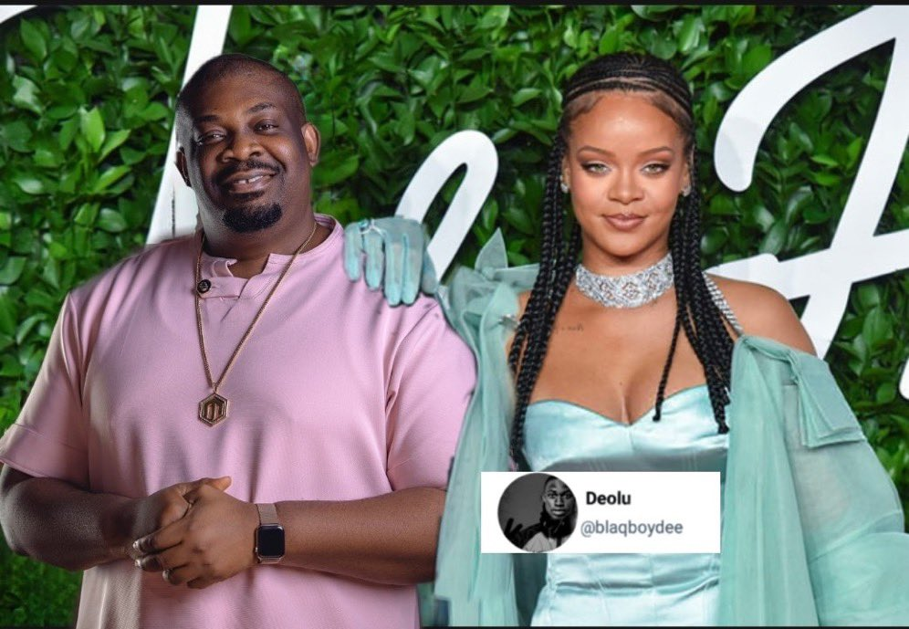 Don Jazzy shares chat