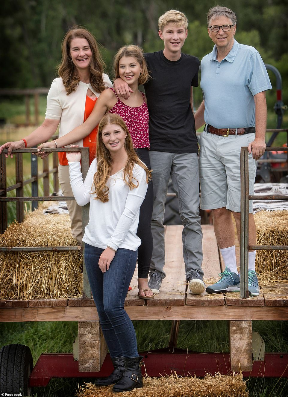 Family Bill and Melinda welcomed their first child Jennifer now
