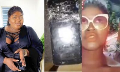 Lady accuses actress Eniola Badmus of destroying her phone