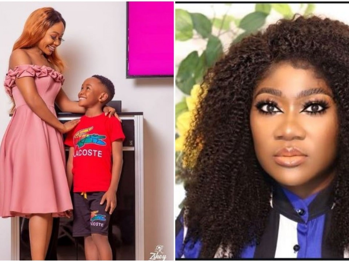 Akuapem shares the DMs she received from Mercy Johnson