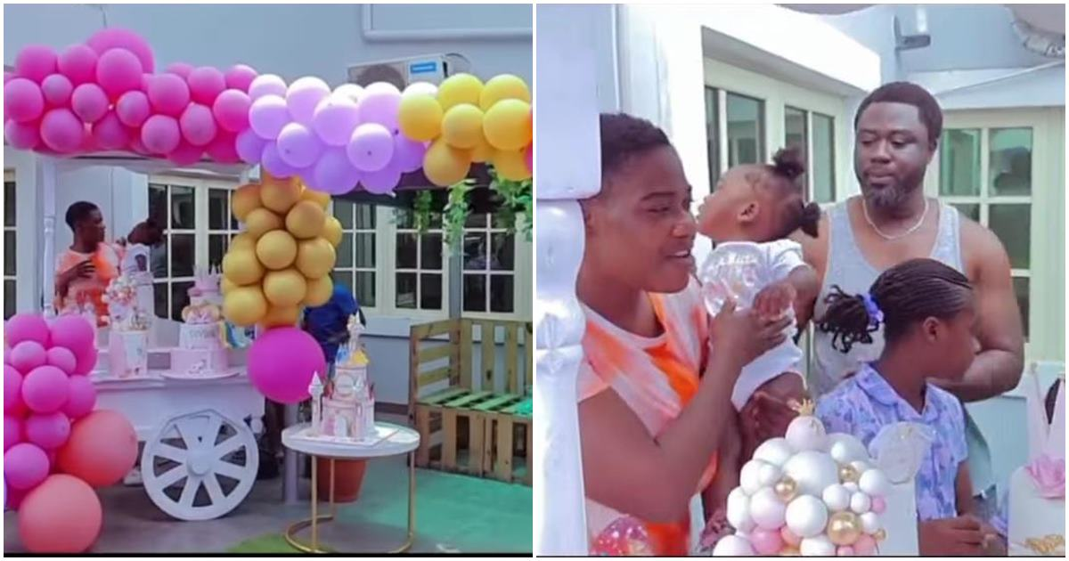 ercy Johnson shares a loved-up family video