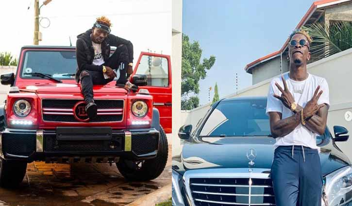 Shatta Wale Mercedes Benz S550 and G Wagon
