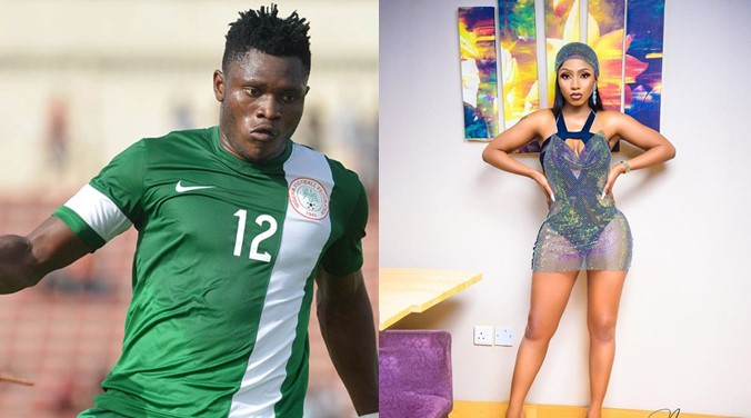 Mercy Eke reacts to allegations that she snatched footballer