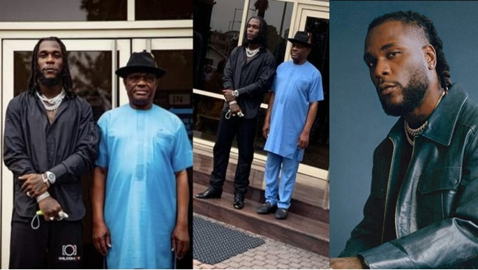 Burna Boy Confirms Governor Wike did Not Pay Him