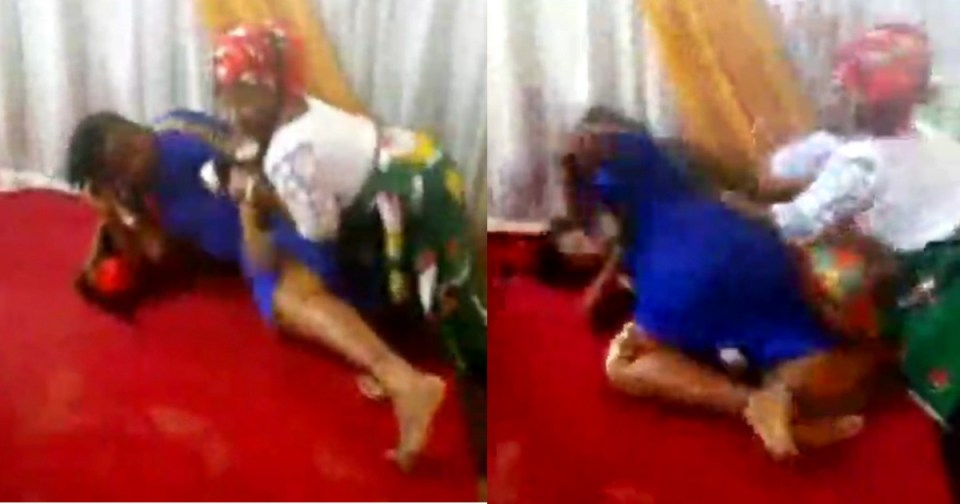 Pastors wife and a female member fight dirty