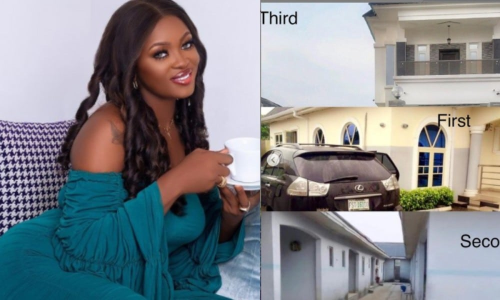 keep mounting unnecessary pressure on young ones reactions as bbnaija ka3na reveals she built two houses at 22years old