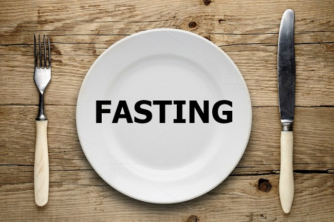 lose weight through fast