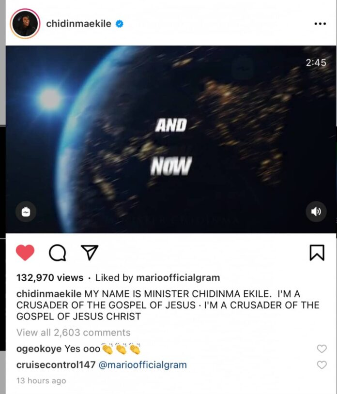 tiwa savage simi other top celebs react after chidinma announce she is now into gospel music 696x814 1