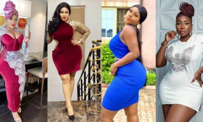 12 Nigerian celebrities who are naturally endowed with curves backside 1