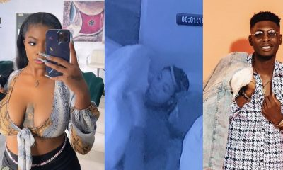 Comment on BBNaija Sammie spotted cuddling with Angel after she