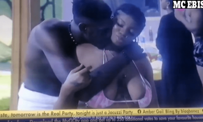 Screenshot 2021 07 30 at 22 59 42 Mixed Reactions As Sammie And Angel Thrills Fans With Show Of Love And Affection For Each...